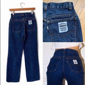Levi's   RARE Vintage White label Mom Jeans P185